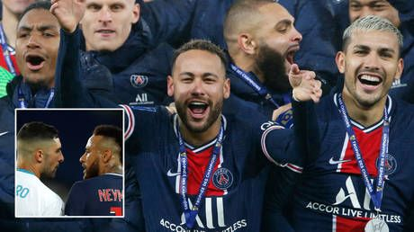 Alvaro Gonzalez calls Neymar 'trash' and claims he will never eclipse Pele as striker reignites row four months after racism claim