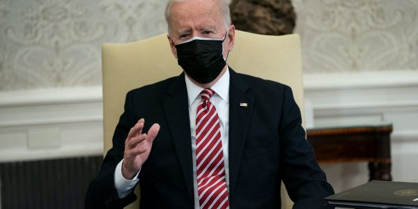 Biden plans order to bolster US supply chains, spurred by last year's scramble for COVID-19 medical gear and looming crisis in chips for electric cars