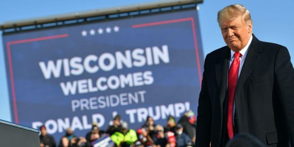 Trump spent $3 million for a vote recount in Wisconsin's largest county to support his baseless claim of ballot fraud but lost by even more than initially thought