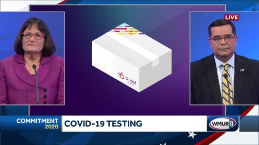 2020 NH 2nd District debate: Distributing at-home COVID test kits
