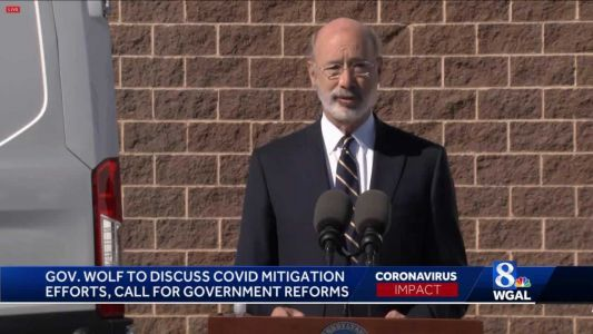 Governor to discuss COVID-19 response in Pa., call for government reforms