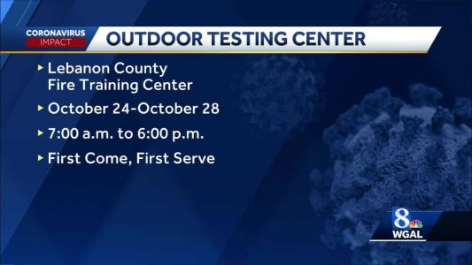 COVID-19 testing clinic to be held in Lebanon County