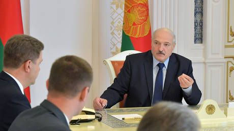 'You're being used as cannon fodder': Lukashenko urges people to STAY HOME, blames protests on foreign meddling