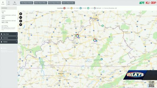 LG&E, KU unveil upgraded power outage map for customers