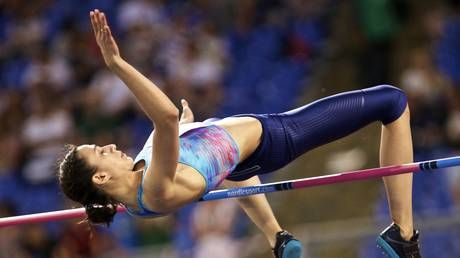 'This is a circus': World champion high jumper Lasitskene hits out at Russian athletics bosses over long-running doping saga