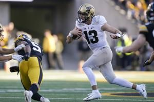 No. 25 Purdue tries to build momentum against Wisconsin