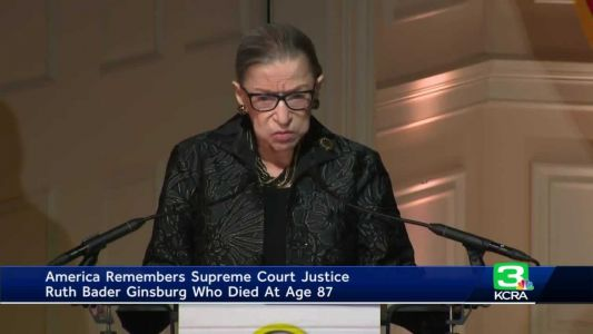 America remembers Supreme Court Justice Ruth Bader Ginsburg