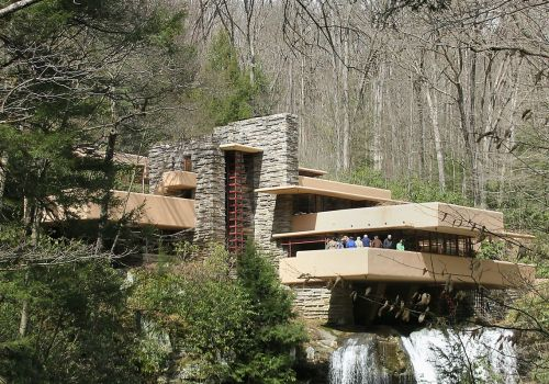 Fallingwater, other Wright buildings, now on World Heritage site list