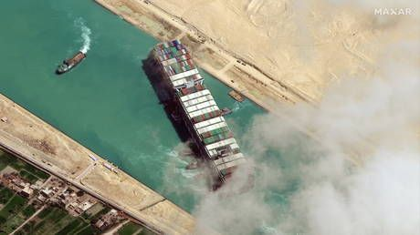 Egyptian authorities impound Ever Given ship after owners refuse to pay compensation over Suez Canal blockage