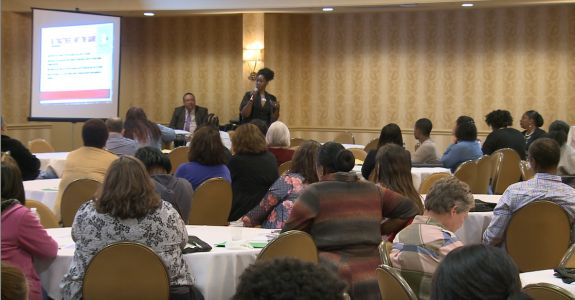 Louisville metro agencies gathered at Crown Plaza for the 25th annual 'Neighborhood Place day'