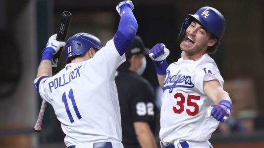 Dodgers' Cody Bellinger dislocated his shoulder celebrating go-ahead home run to clinch NLCS