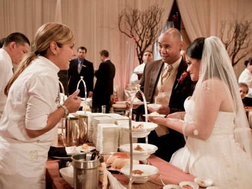 11 of the best foods to serve at a wedding, according to chefs