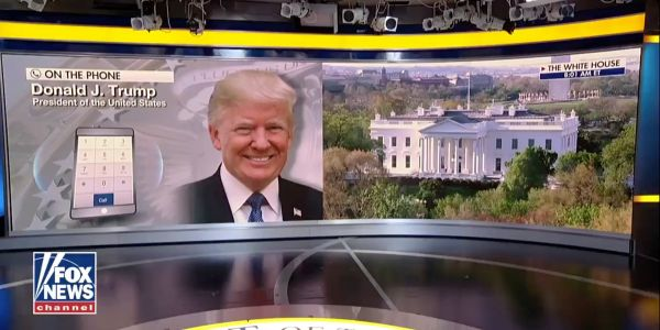 Trump just had a wild 'Fox and Friends' interview reminiscent of the early days of the 2016 campaign