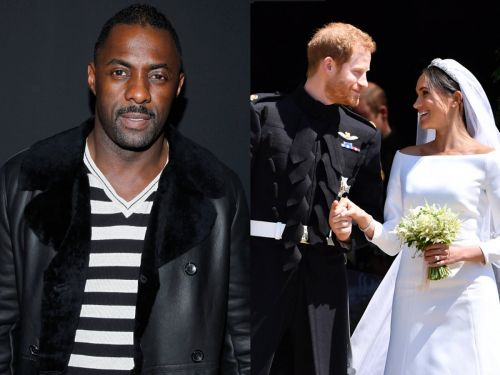 Idris Elba said Meghan Markle gave him a playlist when he deejayed the royal wedding reception