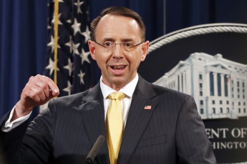 Deputy AG Rod Rosenstein summoned to White House, expecting to be fired