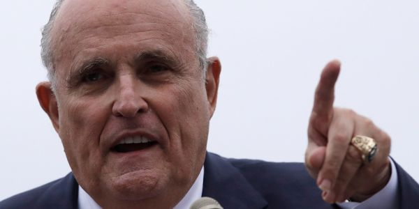 Giuliani said it would be 'perfectly normal' if Trump spoke to Michael Cohen before his testimony
