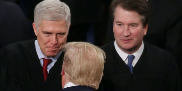 Supreme Court Justices Kavanaugh and Gorsuch ruled against Trump in landmark cases about the president's taxes and financial records