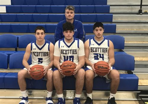 My three sons: At Union High School, coach and three starters are all Stanleys