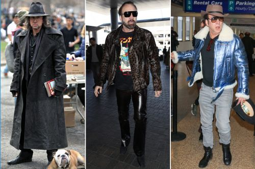 Nicolas Cage is a low-key street style star