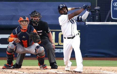 Rays' Randy Arozarena named ALCS MVP after hitting four homers vs. Astros