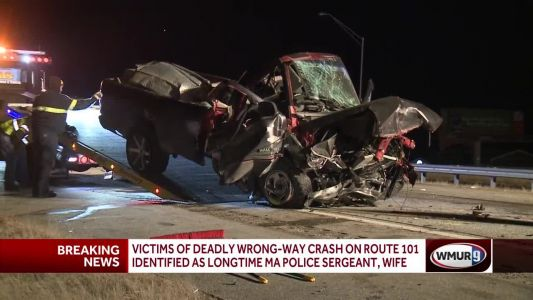 Veteran police officer, wife killed in head-on crash