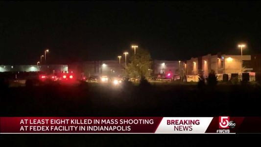 8 killed in mass shooting at FedEx facility in Indianapolis