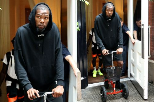 Kevin Durant spotted for first time since shocking Nets signing