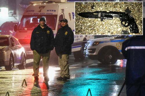 NYPD shoots man who pointed fake gun at them in Bronx