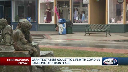Granite Staters adjust to life with COVID-19 pandemic orders in place