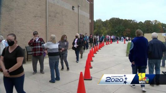 Several factors contributing to Maryland's record early voting turnout