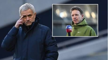 Leipzig boss Nagelsmann 'interested' in taking over at Spurs should they axe Jose Mourinho - reports