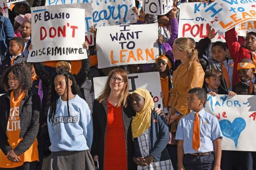 De Blasio's latest dirty trick against kids who want to learn