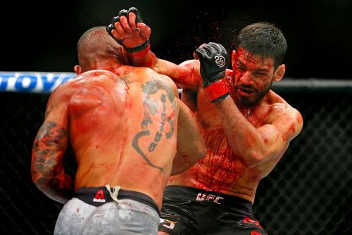Sheymon Moraes says UFC 230 bloodbath with Julio Arce wasn't even his bloodiest fight