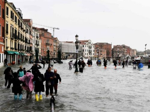 Plea to save precious floor of St. Mark's Basilica cathedral after floods in Venice
