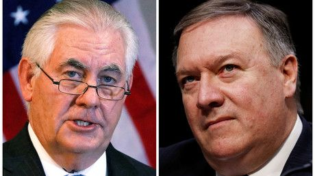 Who's next? Pompeo-Tillerson shake-up sparks Twitter speculation on Trump firings