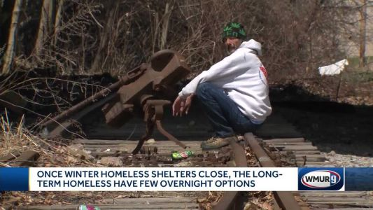 Homeless people left with few places to go as winter shelters close