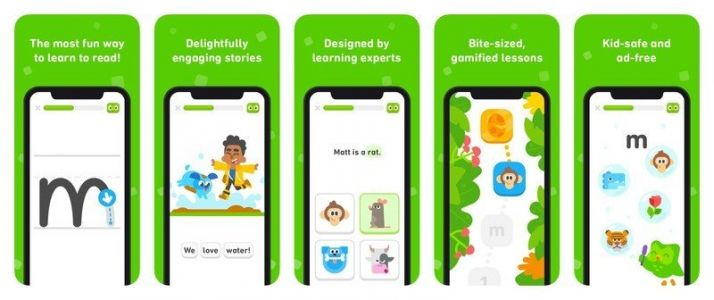 Duolingo releases a free iPhone and iPad app to help kids learn to read