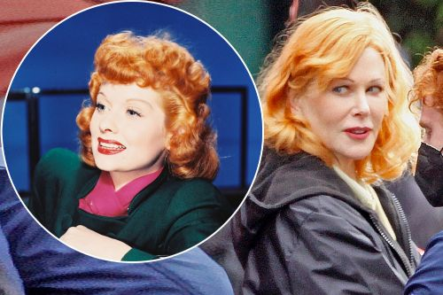 See Nicole Kidman as Lucille Ball for 'Being the Ricardos'