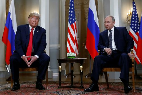 Trump says Mueller probe has poisoned relations between US and Russia