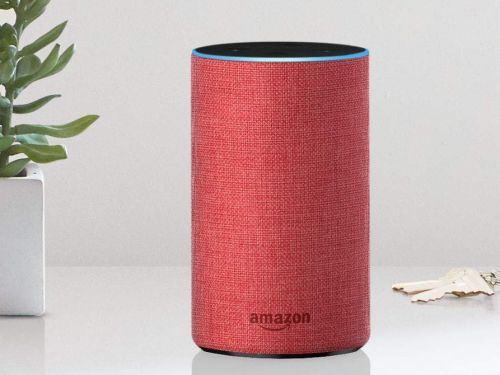 Amazon's limited-edition red Echo is back in stock for the holidays to support the fight against AIDS