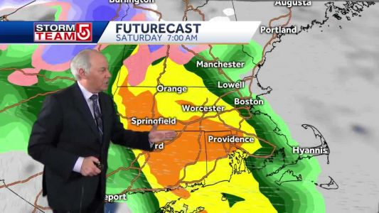 Video: Another storm brings Rain/Snow Friday into Saturday