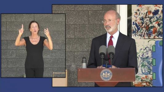 'I'm sort of thinking this is until we get a vaccine': Gov. Wolf addresses mandatory mask order
