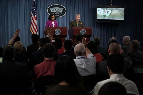 Democrats pledge to bring back daily White House, Pentagon briefings