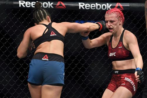 UFC on ESPN 6 winner Maycee Barber agrees with Ben Askren: I'll ruin Paige VanZant's Instagram career