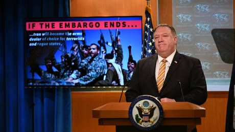 Pompeo urges UNSC to extend arms embargo on Iran 'for Mideast stability'