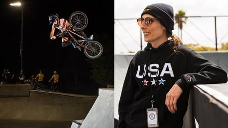 Win Olympics to burn US flag? Team USA transgender cyclist reacts to resurfacing of scandalous Facebook post