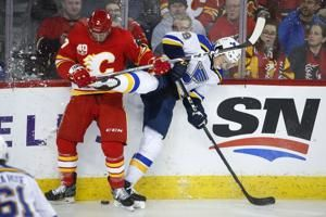 Banged-up Blues: Blais out 10 weeks, St. Louis signs Brouwer