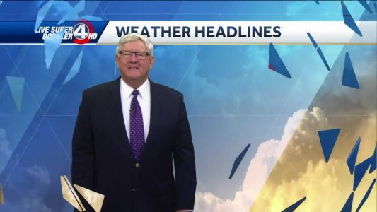 Videocast: Mostly cloudy, dry today