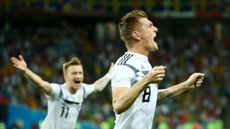 Germany salvage World Cup hopes with late winner against Sweden in Sochi