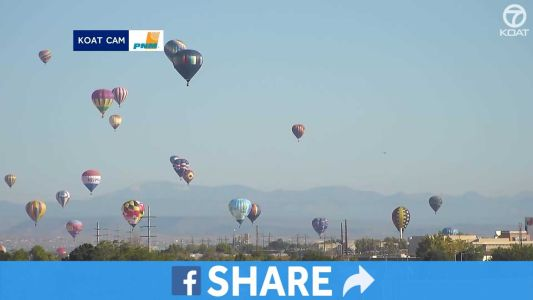 TIMELAPSE: Relive Day 1 of Balloon Fiesta's Mass Ascension